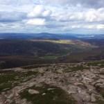 Climbing Mt Keen in Scotland