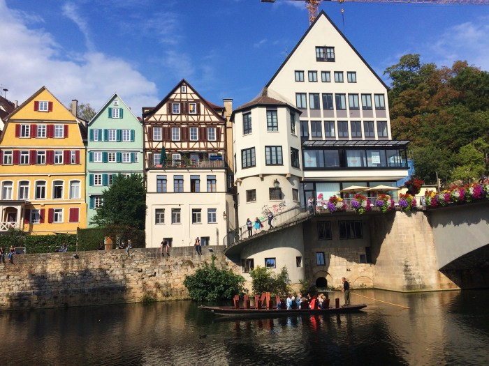 Snapshots of Tubingen, Germany, Deutschland
