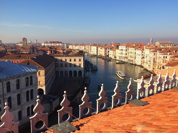 Venice from the rooftops, Italy, Walks of Italy