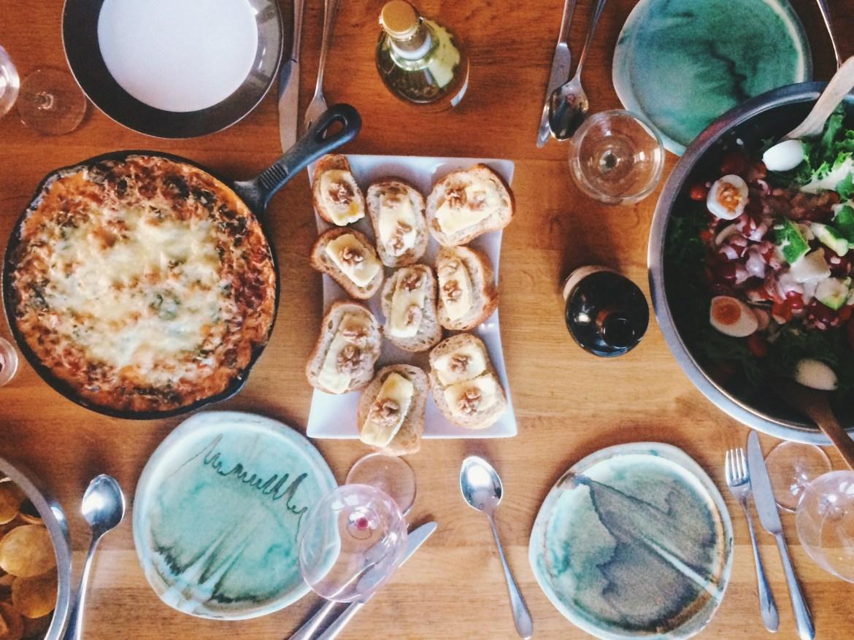 Birthday Appetizer Dinner