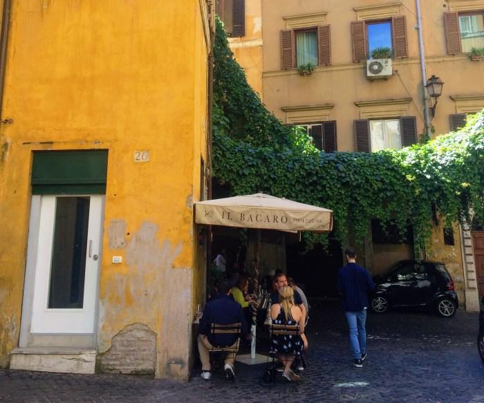 Rome Blogging Il Bacaro