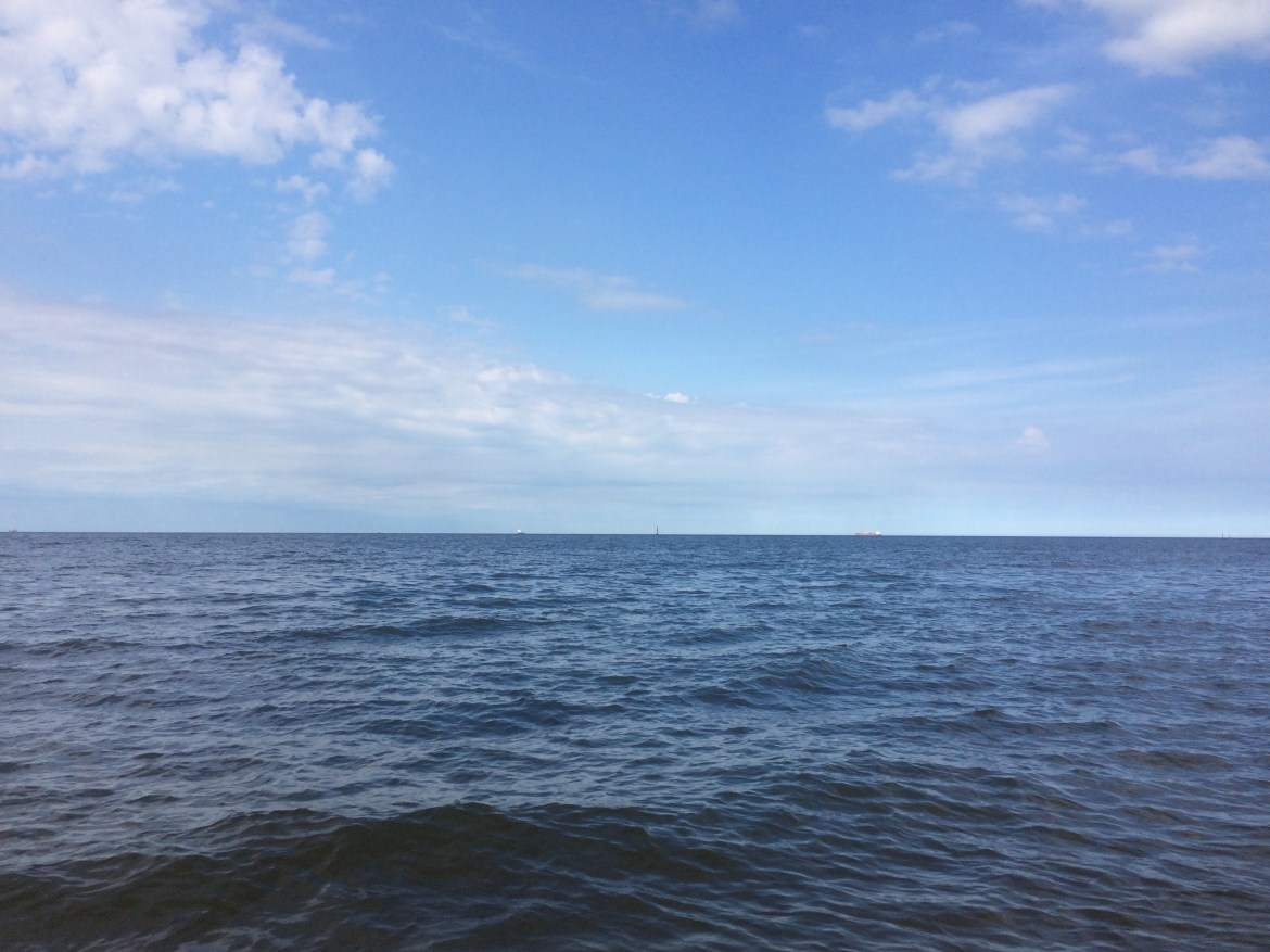North Sea from Gdansk, Poland