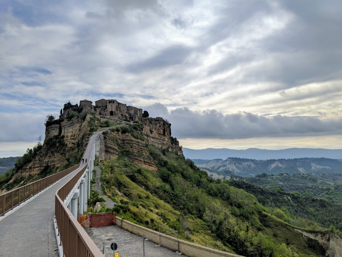 Civita di Bagnoregio, an ancient hilltown in Italy