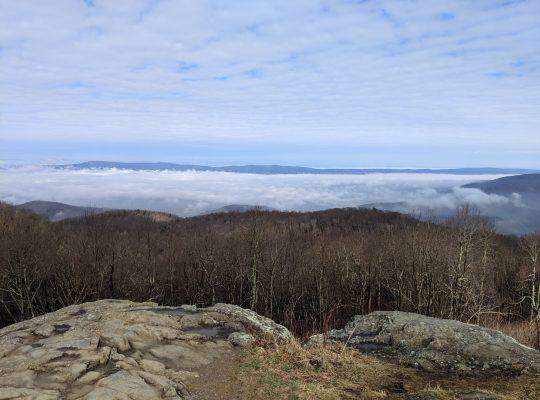 Shenandoah National Park, Hiking Appalachian Trail