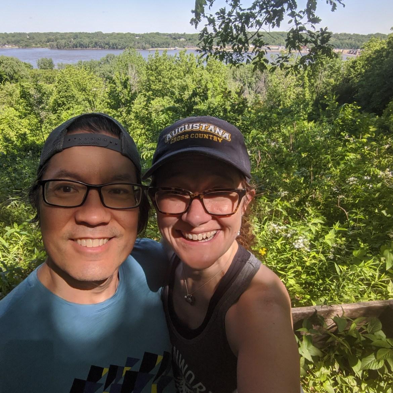 Hiking with Tai