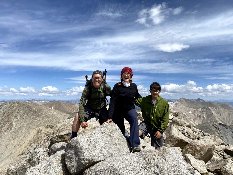 On Top of Mount Shavano