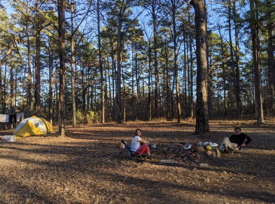 OT Camping with dad
