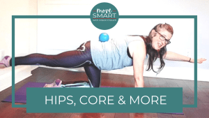pilates exercise for core and glutes