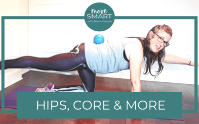 Pilates core exercises include your glutes & shoulders