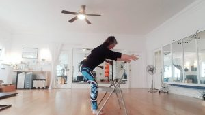 squat to help with pelvic floor tension