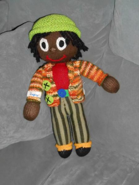 Creative Knitted Art A Golliwog Alison Schwabe Blog