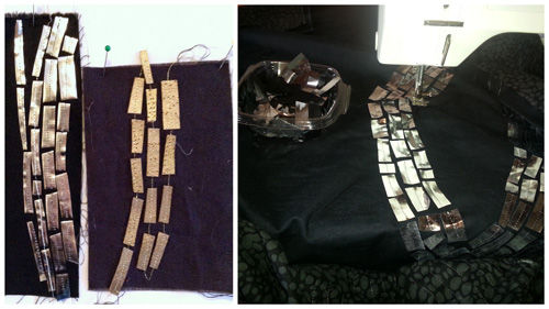 Mosaic design silver pathway blog.