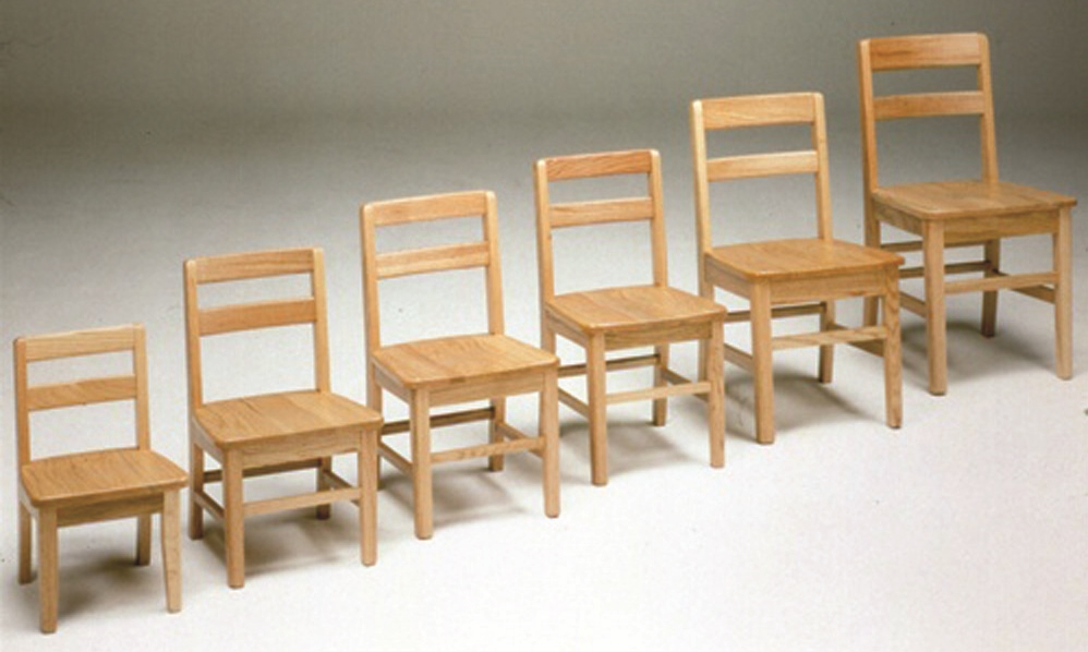 small toddler chair swivel lounge uk montessori materials oak classroom chairs