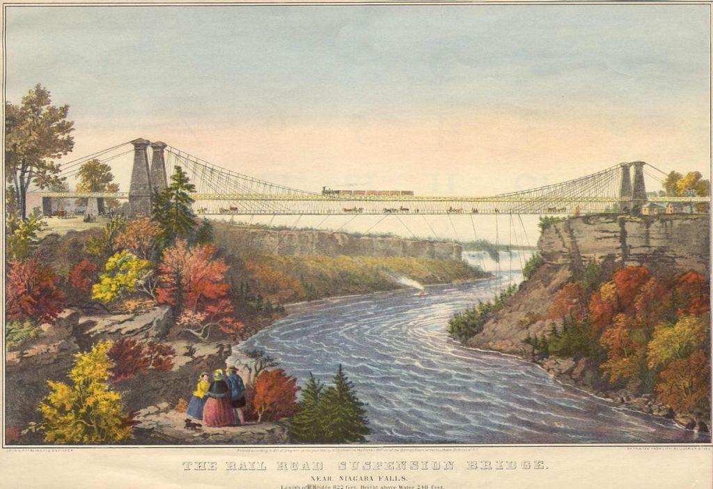 Niagra Falls Suspension Bridge