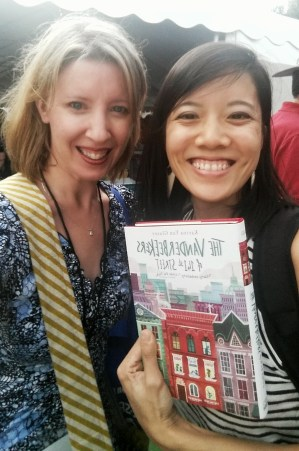 A Literary Feast | Book Review | The Vanderbeekers of 141st Street | jam thumbprint cookies | author interview | Texas Book Festival