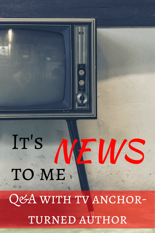 Book Review and Author Q&A with Olga Campos Benz, TV news anchor turned author | It's News To Me | Texas Book Festival | Spanish Rice | #bookreview #authorinterview #news