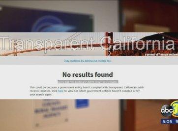 transparent california website