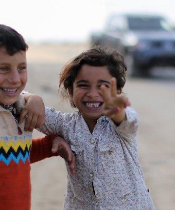 children in palestine