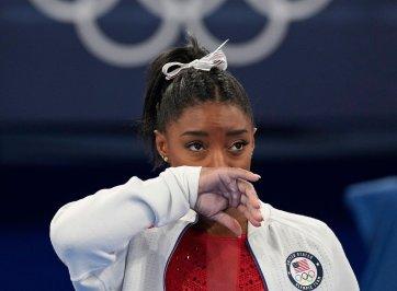 Simone Biles at 2020 Olympics