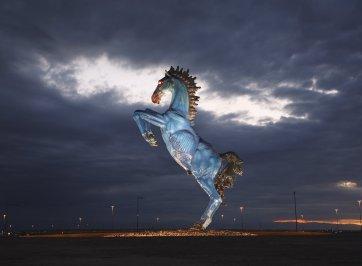 denver airport horse statue
