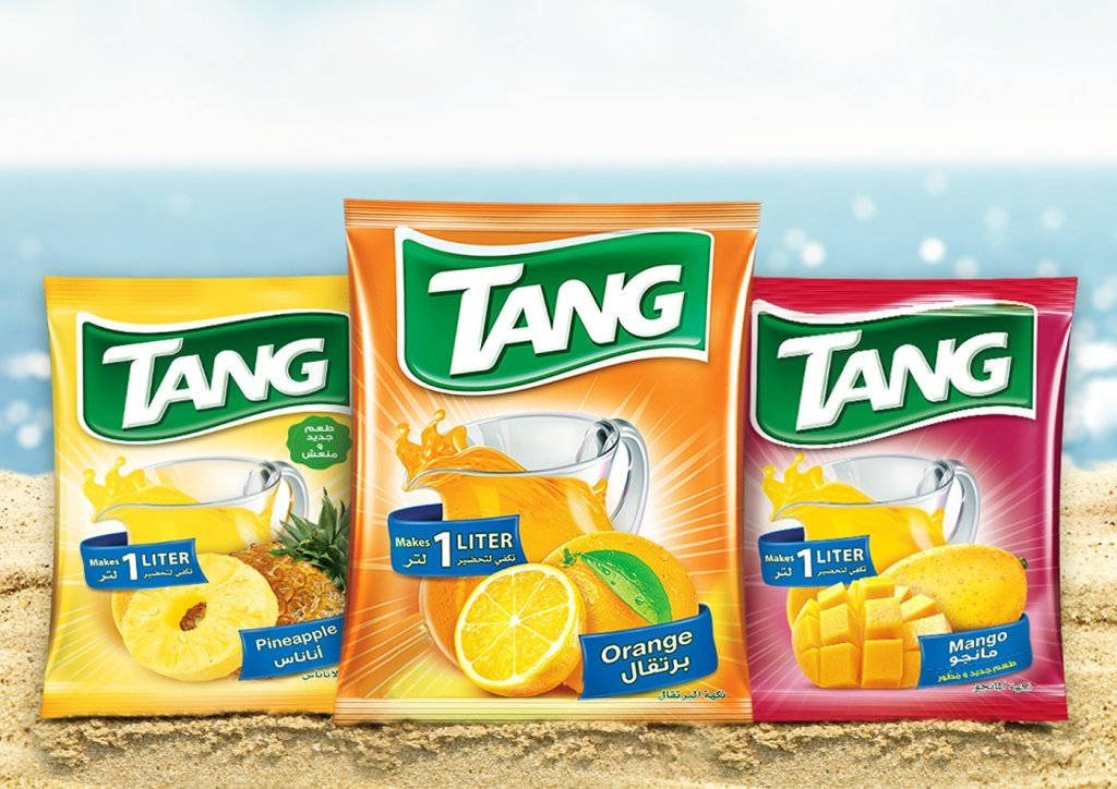 tang packets in assorted flavors