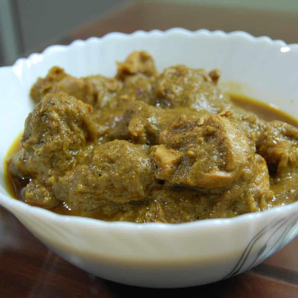 Coriander / Cilantro / Dhania Chicken Curry
