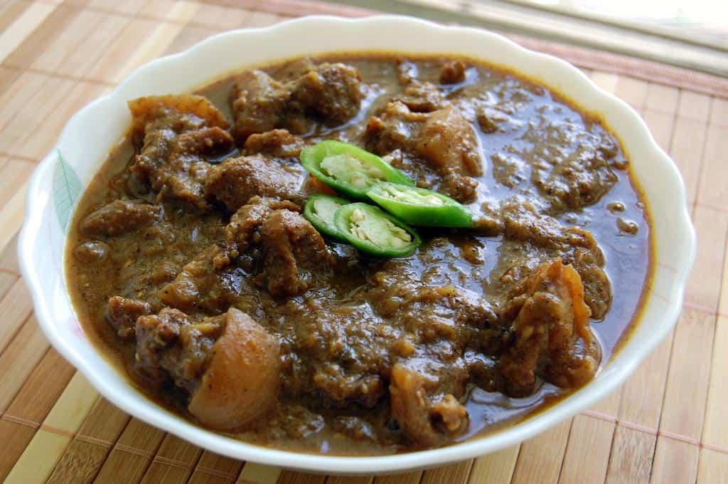 Coorg / Kodava style Pork / Pandi curry