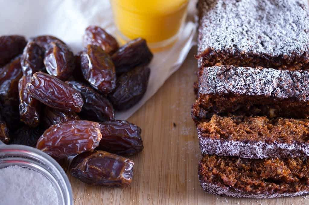 Carrot and Dates Cake (Without butter)