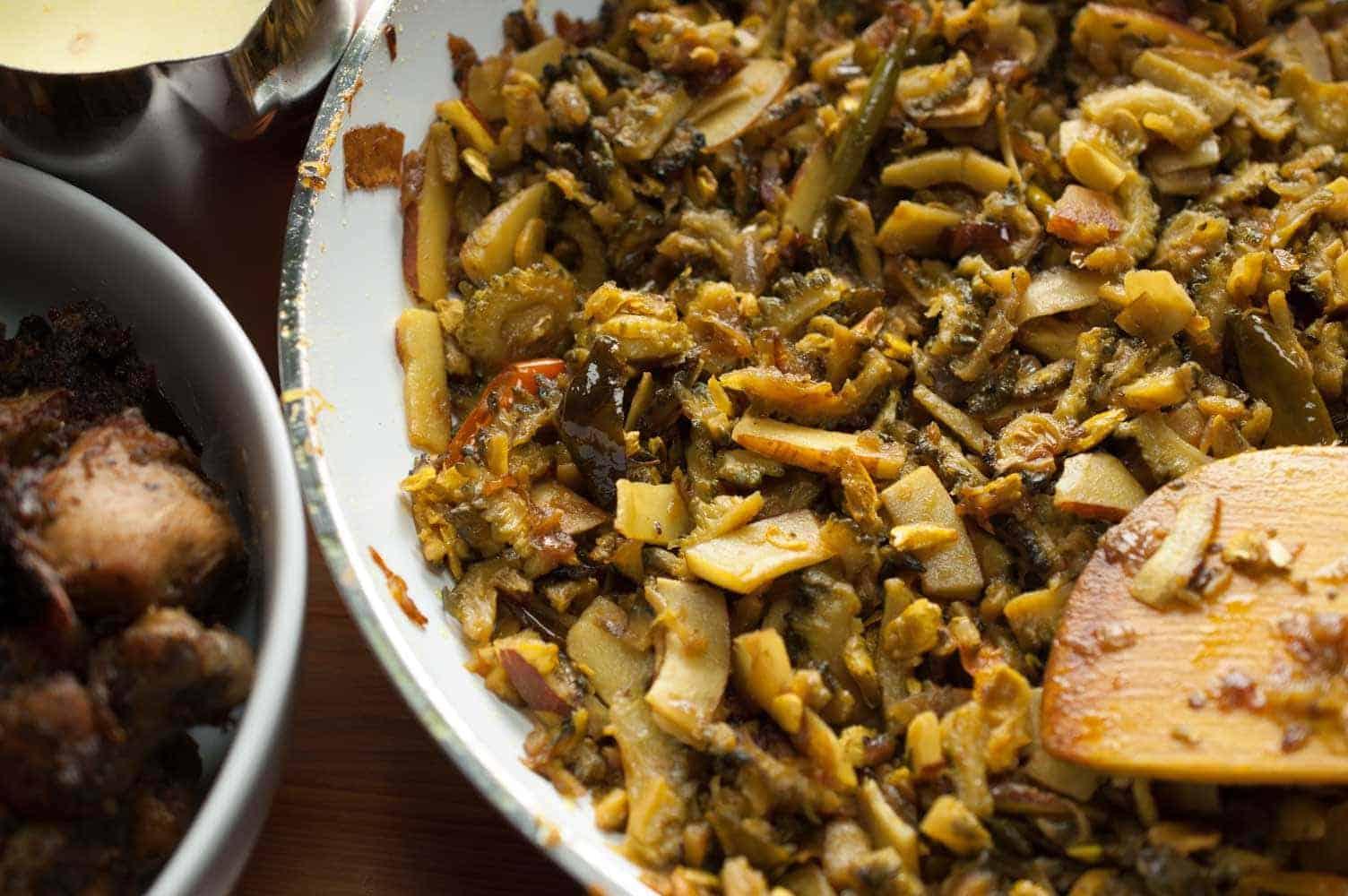 Bitter Gourd Fry (Paavakka/Kakarakaya/Karela Fry)