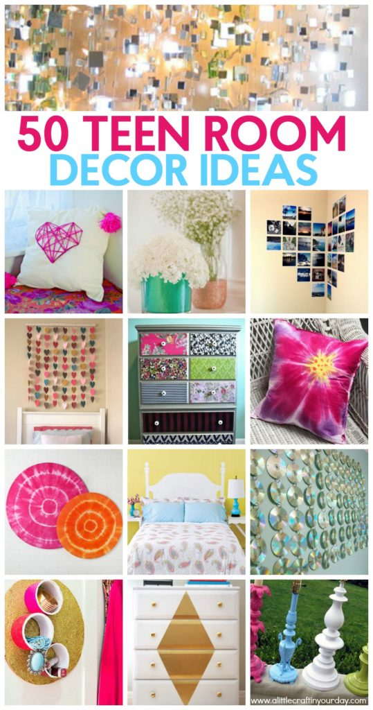 50 Teen Girl Room Decor Ideas  A Little Craft In Your