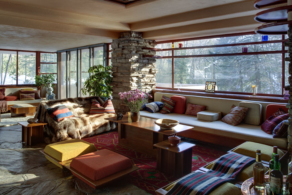 Falling Water Frank Lloyd Wright  A Little Daily Happiness
