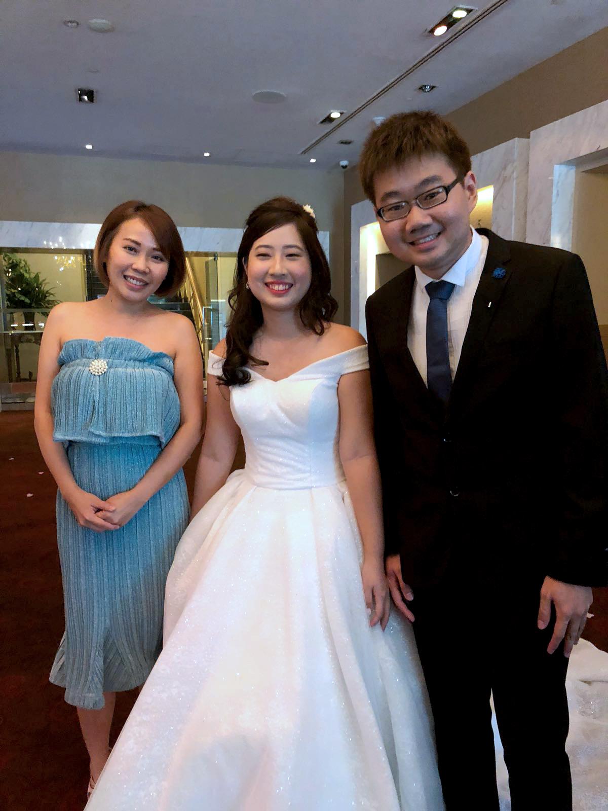 Hotel Fort Canning Lavender Ballroom Wedding