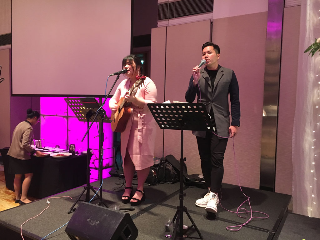 Marriott Singapore Live Band