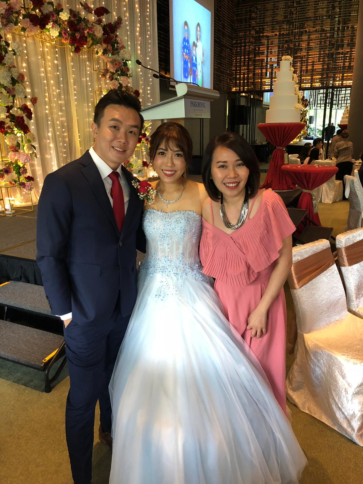 Parkroyal on Pickering Singapore Wedding Emcee