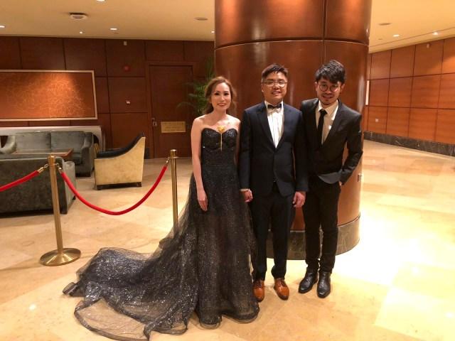Fullerton Hotel Singapore Grand Ballroom Wedding Emcee