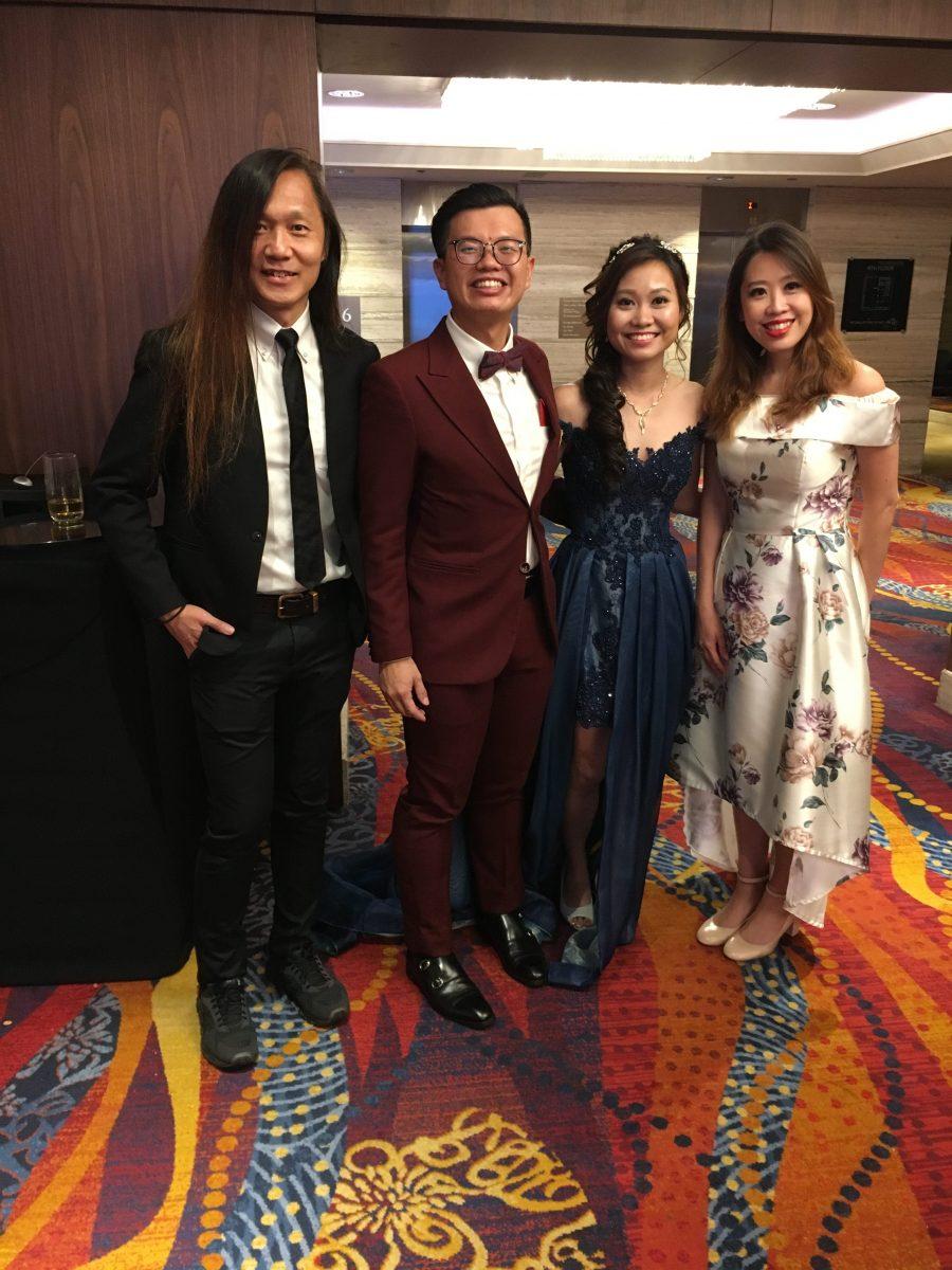 Mandarin Orchard grand ballroom Wedding Live Band