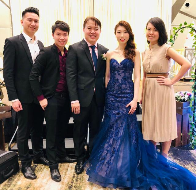Crowne Plaza Ballroom Wedding Live Band Emcee