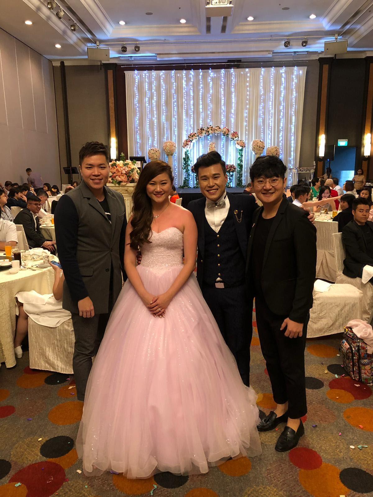 Orchard Hotel Wedding Live Band MC Emcee