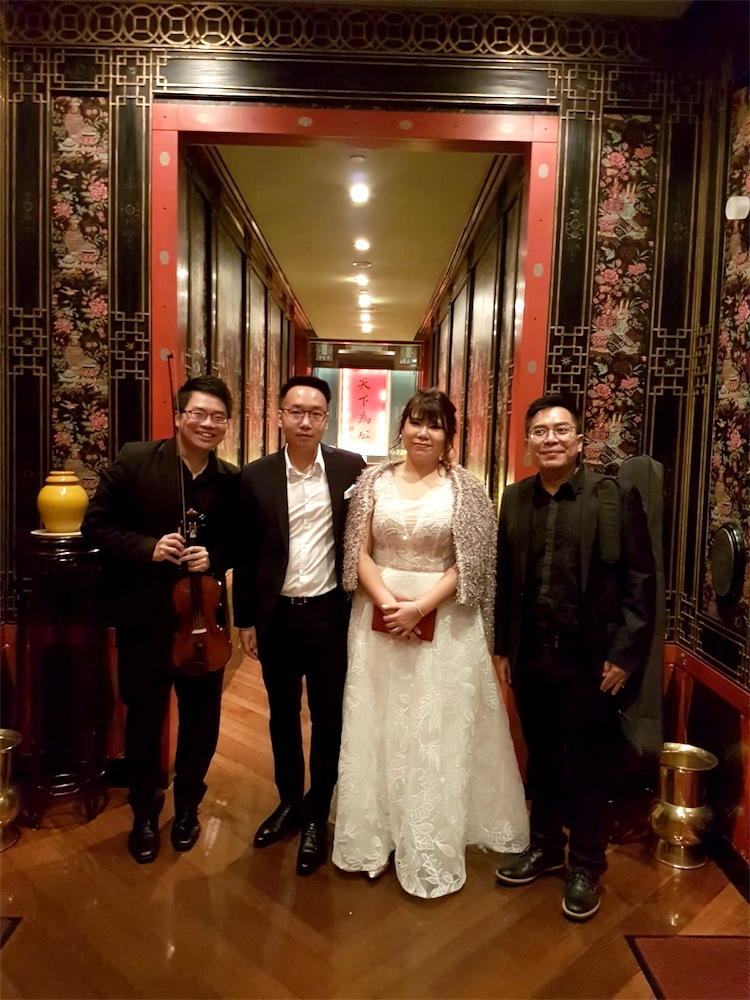 China Club Wedding Live Band Music Emcee