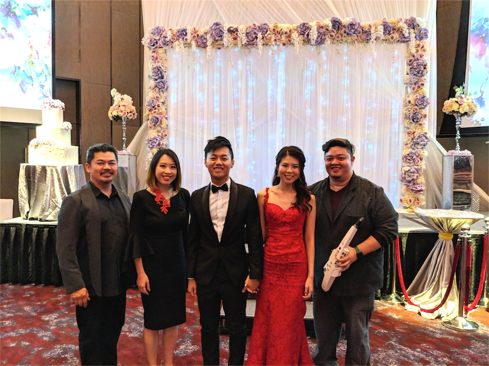 Sheraton Towers Wedding Live Band Music Emcee MC