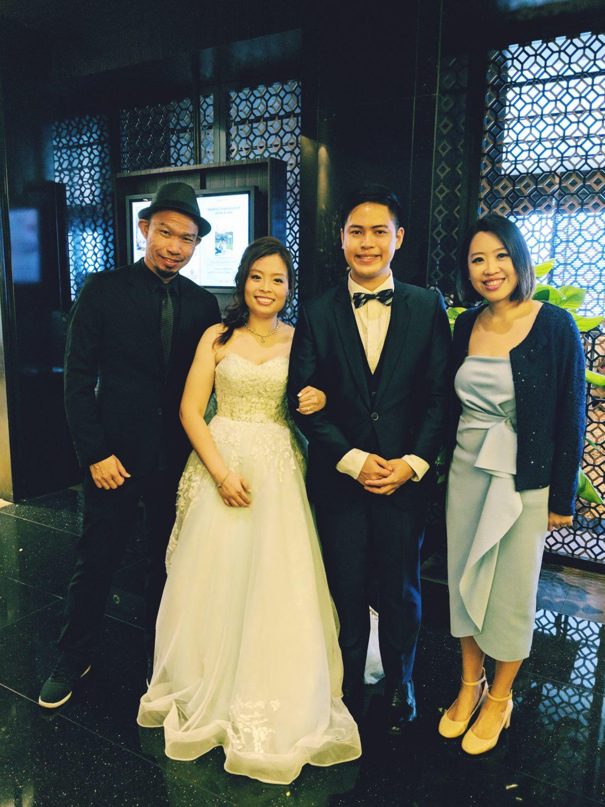 Mandarin Orchard Imperial Ballroom Wedding