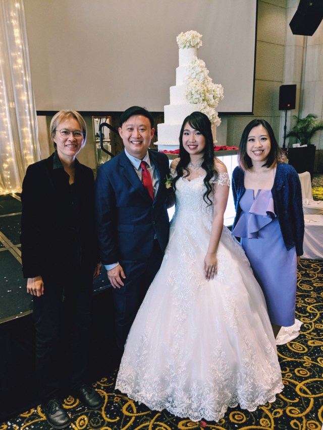 Grand Copthorne Waterfront Wedding Live band Music Emcee