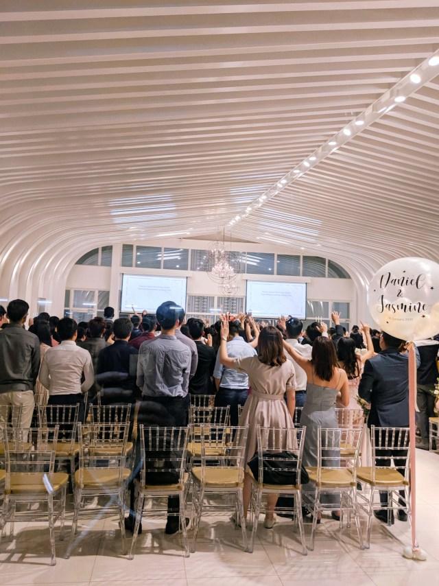 Chapel Imaginarium wedding reception