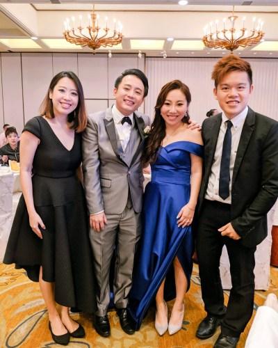Regent Hotel Singapore wedding live band music singer emcee