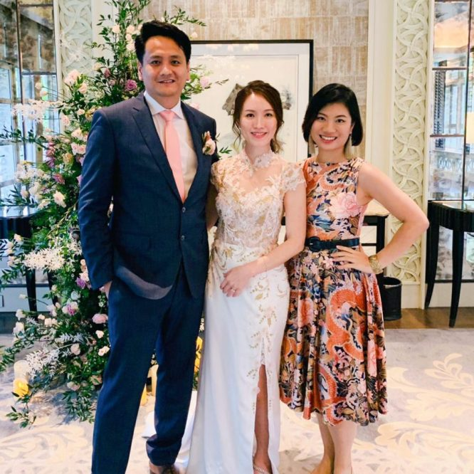 Dutch Pavilion Shangri-la Singapore Wedding Emcee