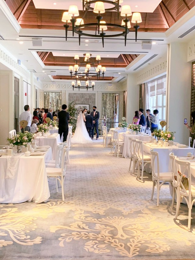 Dutch Pavilion Shangri-la Singapore Wedding Emcee
