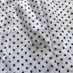 White & Black Polka Dot