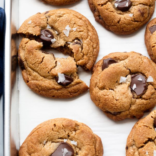 Chewy Chocolate Chip Cookies | A Little Food