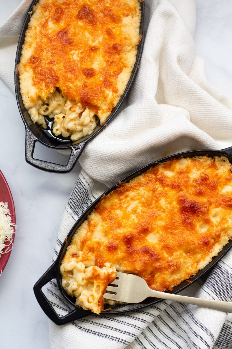 Creamy Baked Macaroni & Cheese | A Little Food