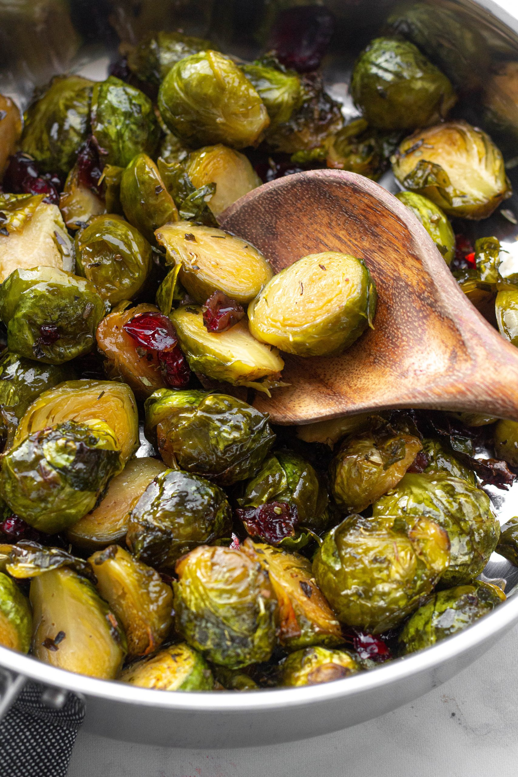 Honey Roasted Brussels Sprouts | A Little Food